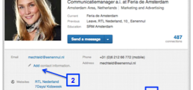 Zou het niet cool zijn als je aantekeningen kan maken bij iemands LinkedIn profiel?